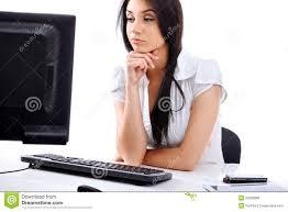 femme de bureau femme au bureau photo stock image du élégance femelle 23638866