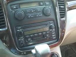 toyota car stereo toyota highlander car stereo removal and repair 2001 2007