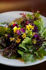 Salad With Edible Flowers - 54 best with edible flowers images on pinterest edible flowers