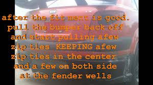 Build A Kia by Kia Rio Custom Bumper Build Youtube