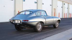 no reserve v8 powered 1963 jaguar e type