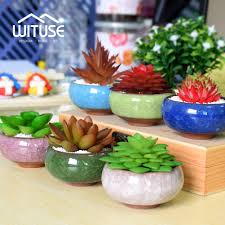 online buy wholesale mini ceramic flower pots from china mini