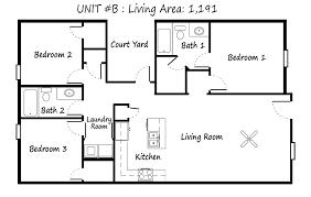 come home to our luxury town homes magnolia meadows la unit b floor plan