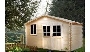 abris de jardin madeira abri de jardin en bois 10 18 m 34 mm d épaisseur madeira