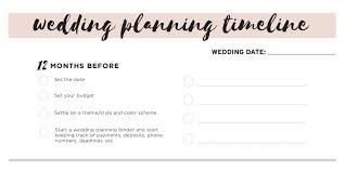 how to start planning a wedding 11 free printable checklists for your wedding timeline
