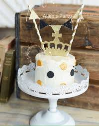 black cake toppers new gold crown birthday mini cake toppers wedding black cake