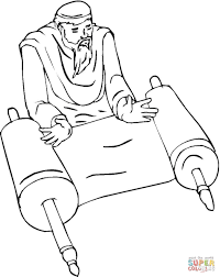prophet coloring page free printable coloring pages
