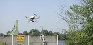 uav drone based aerial inspection of industrial plants etc