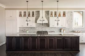 two toned kitchen cabinet trend aw inspiring spaces