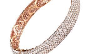 rose gold bangle bracelet images Jewelry non branded 18k rose gold diamond pave bangle bracelet