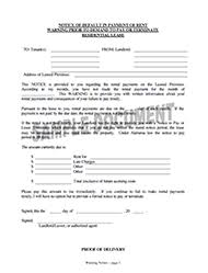 Rent Increase Letter Ma landlord tenant forms landlord station
