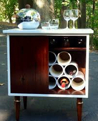 antique record album cabinet vintage record album cabinet upcycled pvc wine storage cabinet my