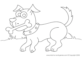 digital dunes animal coloring funny cute dog coloring pages