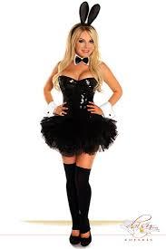 5 Pc Sequin Bunny Costume Amiclubwear Costume Online Store