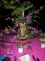 table centerpiece for luau home ideas 2016