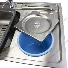 Triple Basin Kitchen Sink by 91 43 22 Topmount Undermount Triple Bowl Kitchen Sinks Stainless