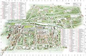 Sfsu Map Northeastern University Campus Map