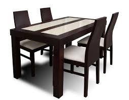 table avec 4 chaises table de cuisine moderne pas cher brilliant