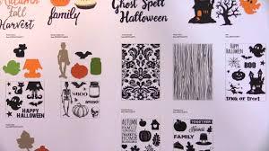 halloween dies spc summer 2015 echo park designer dies and stamps youtube