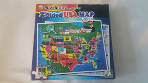 encyclopedia britannica talking usa map puzzle learning aid 2 usa map puzzle masterpieces