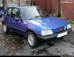 peugeot pre owned 1996 peugeot 205 classic u0026 vintage cars for sale at raced