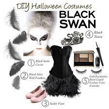 Blue Black Halloween Costumes Diy Halloween Costumes Black Swan Polyvore