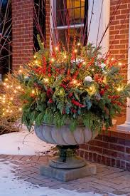 Outdoor Christmas Decor Pinterest by 400 Best Christmas Outdoor Decor Images On Pinterest Christmas