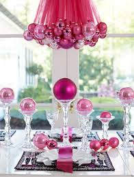pink christmas table decoration ideas – Christmas Celebration