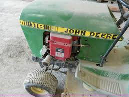john deere 116 riding mower item t9816 sold may 8 gover