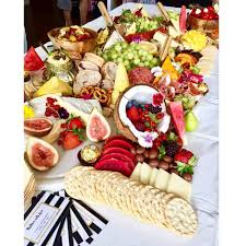 Baby Shower Food Spread This Baby Shower Lunch Spread This Platters With Love