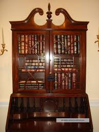 secretary desk with bookcase ideas of antique drop front secretary desk with bookcase with