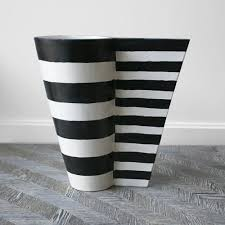 Black And White Vases Designer Trays Dishes Platters U0026 Vases Kelly Wearstler