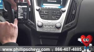 2014 chevy equinox mylink pairing your phone or bluetooth