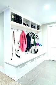 mudroom organizer locker organizer shelves entryway storage locker all white mudroom