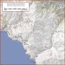 Muir Woods Map Tennessee Valley And Muir Beach