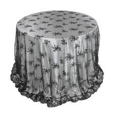 silver lace table overlay lace round tablecloths wedding black lace table overlay