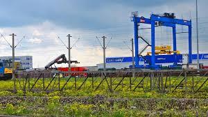 kalmar asc 45t automatic container stacker crane curtici arad