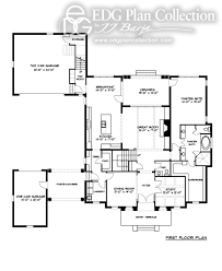 Georgian Floor Plan by 5 Beds Edg Plan Collection