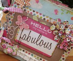 handmade scrapbook albums handmade my favorite things pretty mini scrapbook album