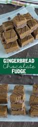 gingerbread chocolate fudge the first year