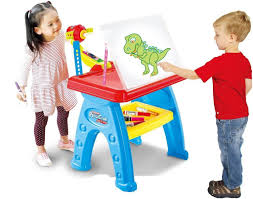 buy toys bhoomi multi function kids drawing projector desk table