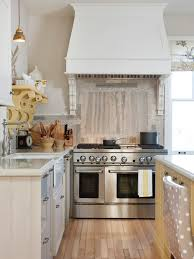 natural wood kitchen island ceiling beautiful kitchen stove hood with white quartz countertop
