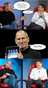 Steve Jobs Meme - image 152652 steve jobs vs bill gates know your meme
