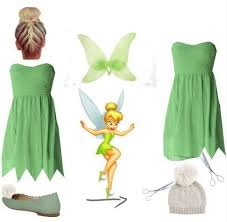 Halloween Costumes Tinkerbell 25 Diy Tinkerbell Costume Ideas Tinker Bell