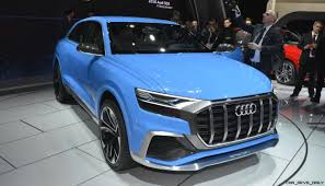 Audi Q7 Limo - 2017 audi q8 concept near production suv limo shows face in detroit