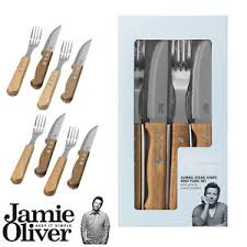 oliver kitchen knives oliver jumbo steak cutlery set of 8 pieces 5010112815008 ebay