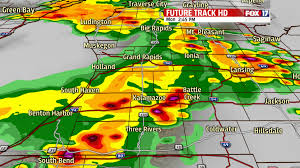Weather Map Michigan by Severe Weather In West Michigan Fox17