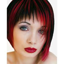 Red Hair Color With Highlights Pictures Amazon Com Smart Highlights Intense Red Frosting Hair Colour X 3