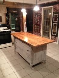 Kitchen Island Made From Reclaimed Wood 96 Best Old Dresser Into Kitchen Island Images On Pinterest
