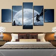Premium Home Decor Large Premium Quality Canvas Printed Wall Poster 5 Pieces 5